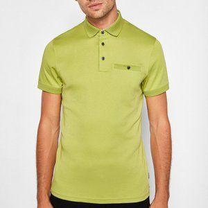 TED BAKER LONDON   Bright Green Polo Shirt XL Men